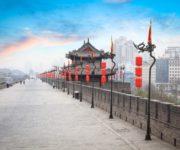西安古城墙1