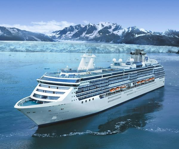 Ruby Princess 7 Nights Alaska Glacier Spring Tour